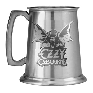 Logo and Bat Pewter Tankard