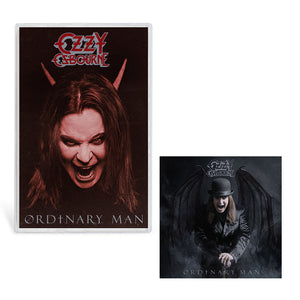 Ordinary Man Devil Cover Art Cassette Bundle