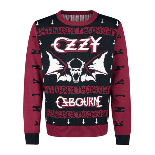 Ozzy Bat Christmas Sweater