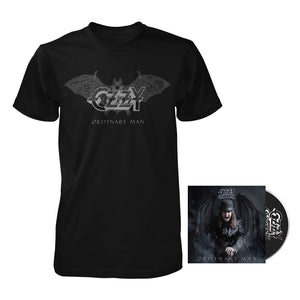 Ordinary Man Bat Tee + Choose Your Music Bundle