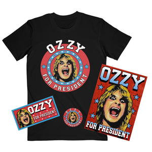 Ozzy for President Tee Bundle
