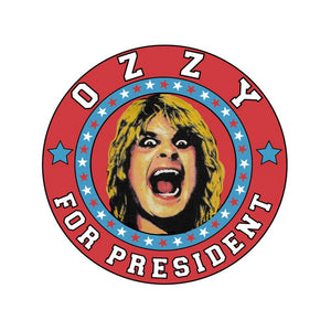 Ozzy for President Button