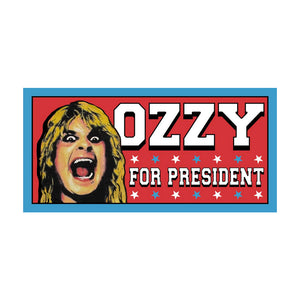 Ozzy for President Bumper Sticker