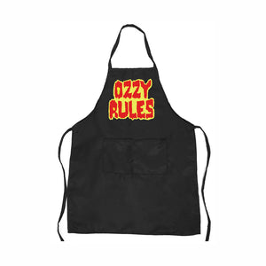 Ozzy Rules Grilling Apron