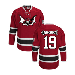 Speak Of The Devil Hockey Jersey