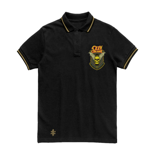 Skull Shield Custom Polo Shirt