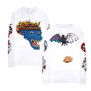 Ozzy Long Sleeve Tattoo Tee