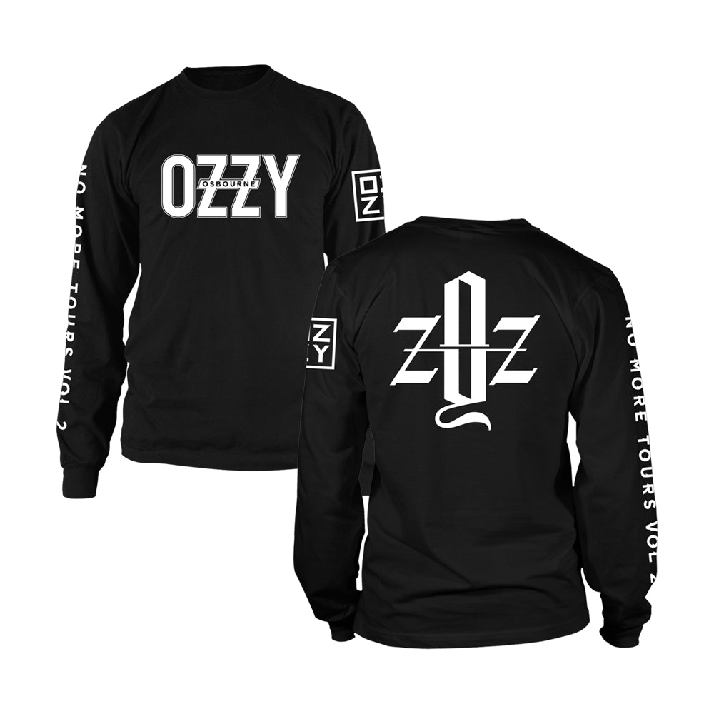 1b5f47e0 No More Tours Vol. 2 Initials Long Sleeve – Ozzy Osbourne Official Store