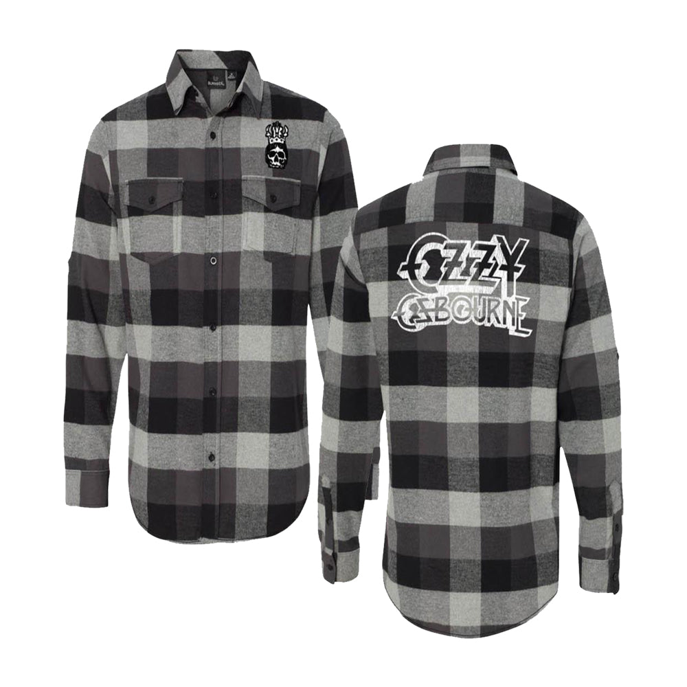 60d61a97 Buffalo Plaid Shirt – Ozzy Osbourne Official Store