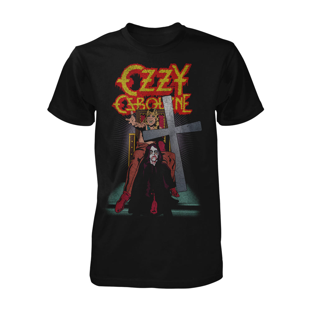 speak of the devil vintage tee ozzy osbourne official store. Black Bedroom Furniture Sets. Home Design Ideas