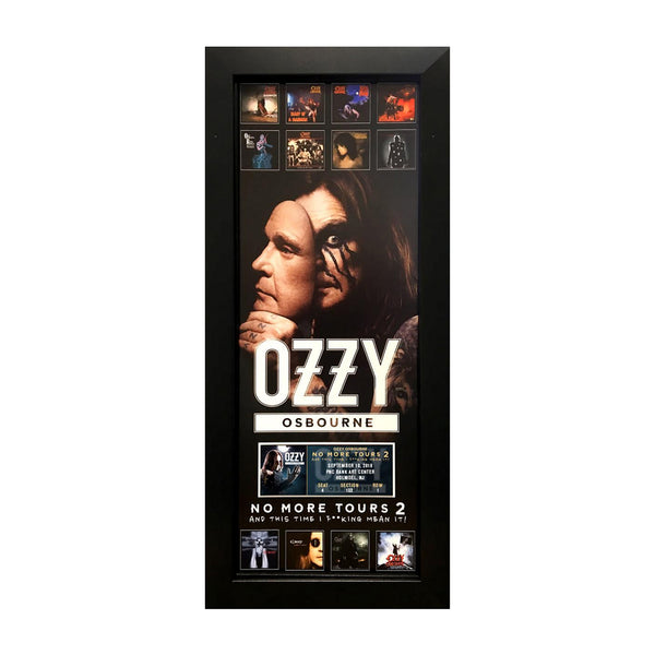 No More Tours 8x20 Personalized Ticket Plaque