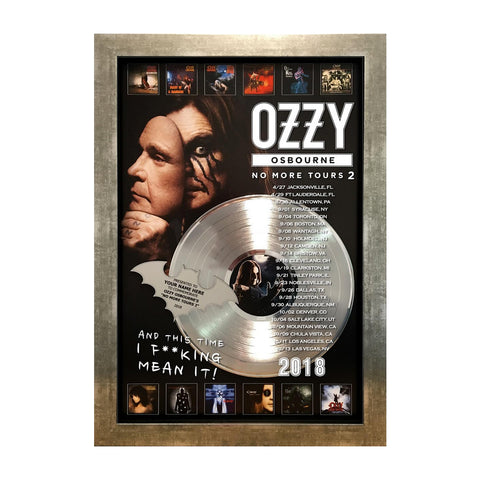 No More Tours 16x24 Personalized Plaque