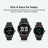 oraimo Tempo-W Smart Watch with Fitness Tracking - OSW-10 - Black - Whatnot India