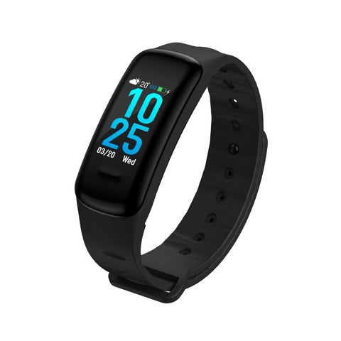 oraimo Tempo-C IP67 Waterproof Fitness Tracker Smart Fitband HD Colour Screen Sports Bracelet OFB-11 - Whatnot India