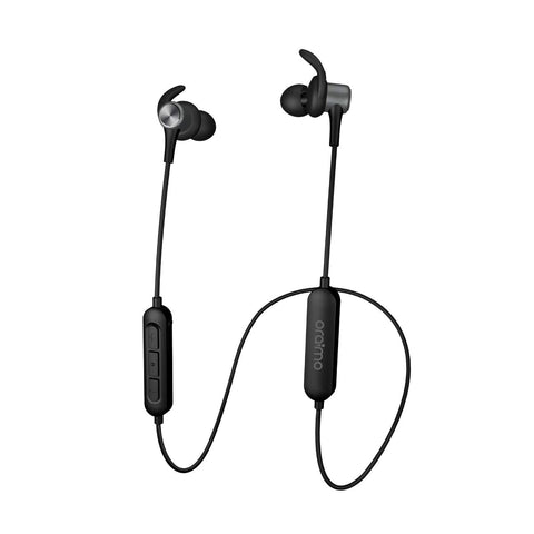 Oraimo Shark Sweat-Proofing Extreme Bass in-Ear Wireless Bluetooth Headphones with Mic
