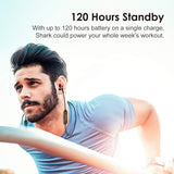 Oraimo Shark Sweat-Proofing Extreme Bass in-Ear Wireless Bluetooth Headphones with Mic - Whatnot India