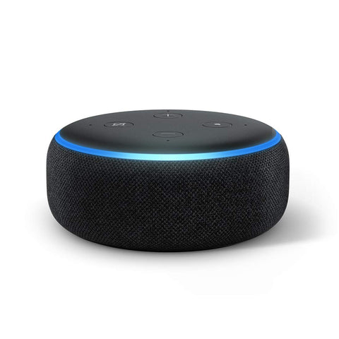 Echo Dot (3rd Gen) – New and improved smart speaker with Alexa (Black) - Whatnot India