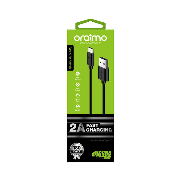 oraimo Drualine 2A Fast Charging Cable OCD-C21