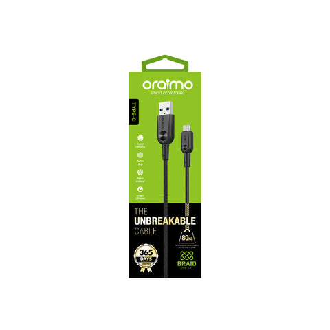 Oraimo Braid The Unbreakable Cable Data Cable OCD-C 31