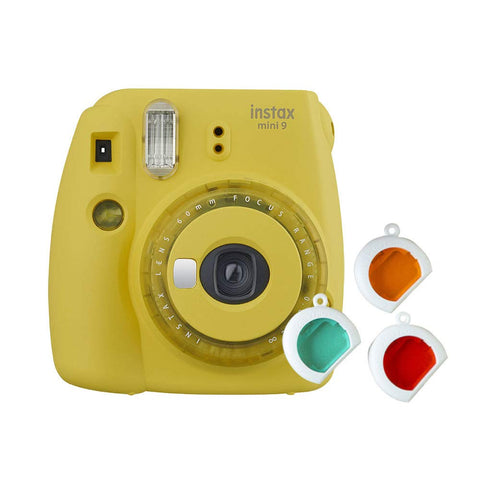 Fujifilm Instax Mini 9 Instant Camera(Clear Yellow) - Whatnot India