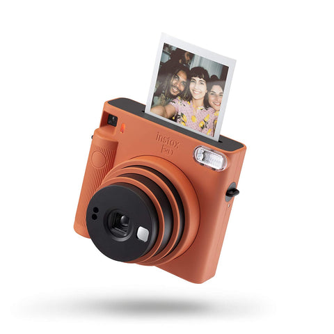 Fujifilm Instax Square SQ1 Camera - Terracotta Orange - Whatnot India
