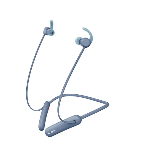 Sony WI-SP510 Wireless Sports Extra Bass in-Ear Headphones with 15 hrs Battery Life, Quick Charge, Magnetic Earbuds, Bluetooth Ver 5.0, Headset with Mic for Phone Calls - Blue