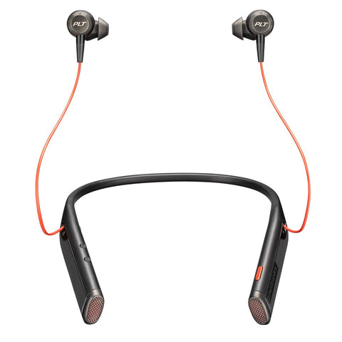Plantronics Voyager 6200 UC Business-Ready Bluetooth Neckband Headset with Earbuds - Whatnot India