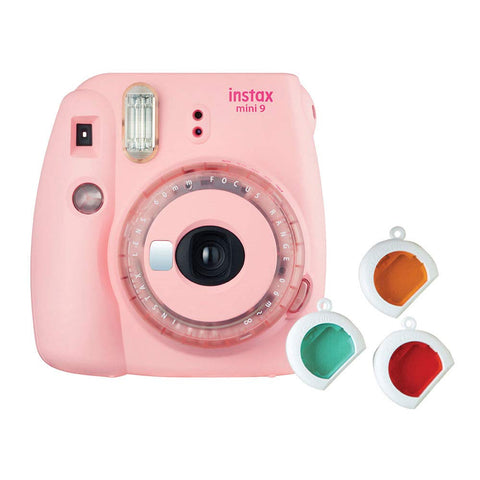Fujifilm Instax Mini 9 Instant Camera (Clear Pink) - Whatnot India