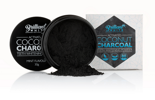 Brilliant White Activated Coconut Charcoal (Ships 3rd Week of October)