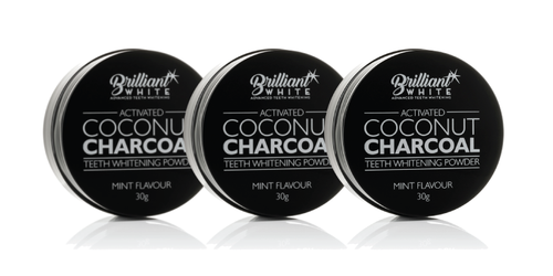 Activated Coconut Charcoal Triple Pack (Ships 3rd Week of October)