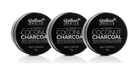 Activated Coconut Charcoal Triple Pack