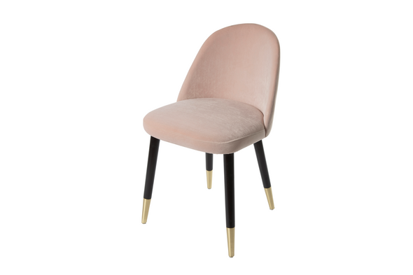 LUXE Makeup Vanity Chair - Light Pink