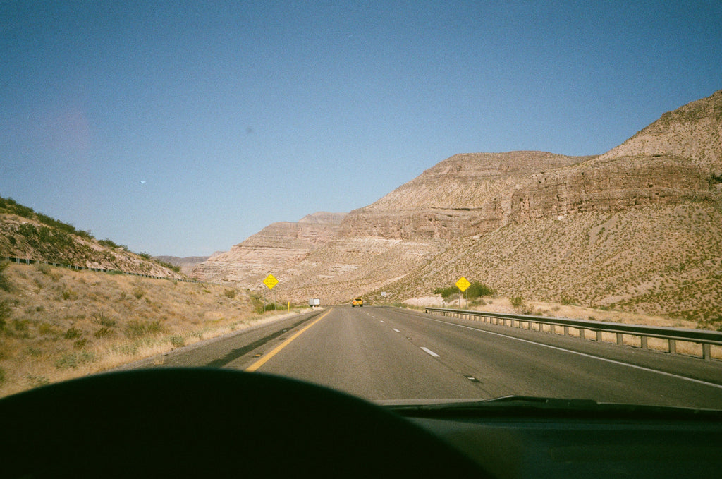 VISUAL DIARY: DRIVING ACROSS THE NATION