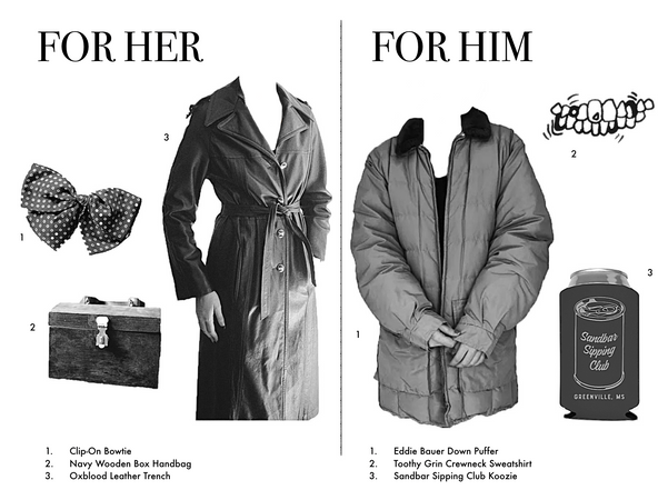 GIFT GUIDES FOR HIM & HER