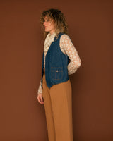 Vintage Lee Denim Vest (L)