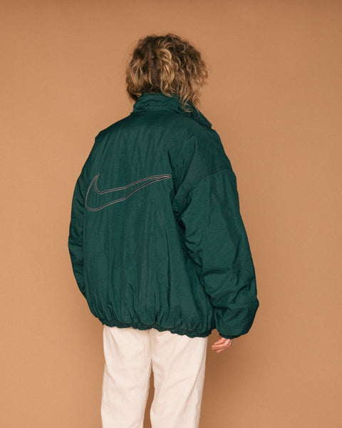 Vintage Reversible Nike Down Zip-Up (XL)