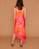Vintage Tie Dye Asymmetric Dress (6/8)