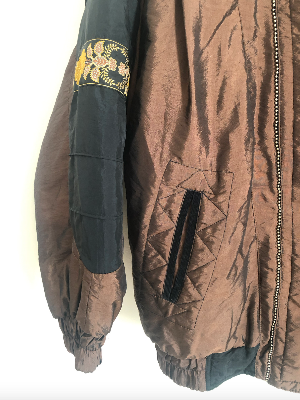 Vintage 80's Copper Windbreaker (M/L)