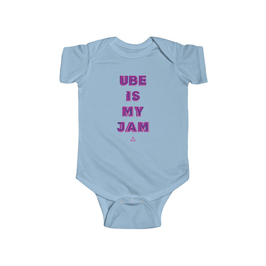 Ube is My Jam Baby One Piece Bodysuit