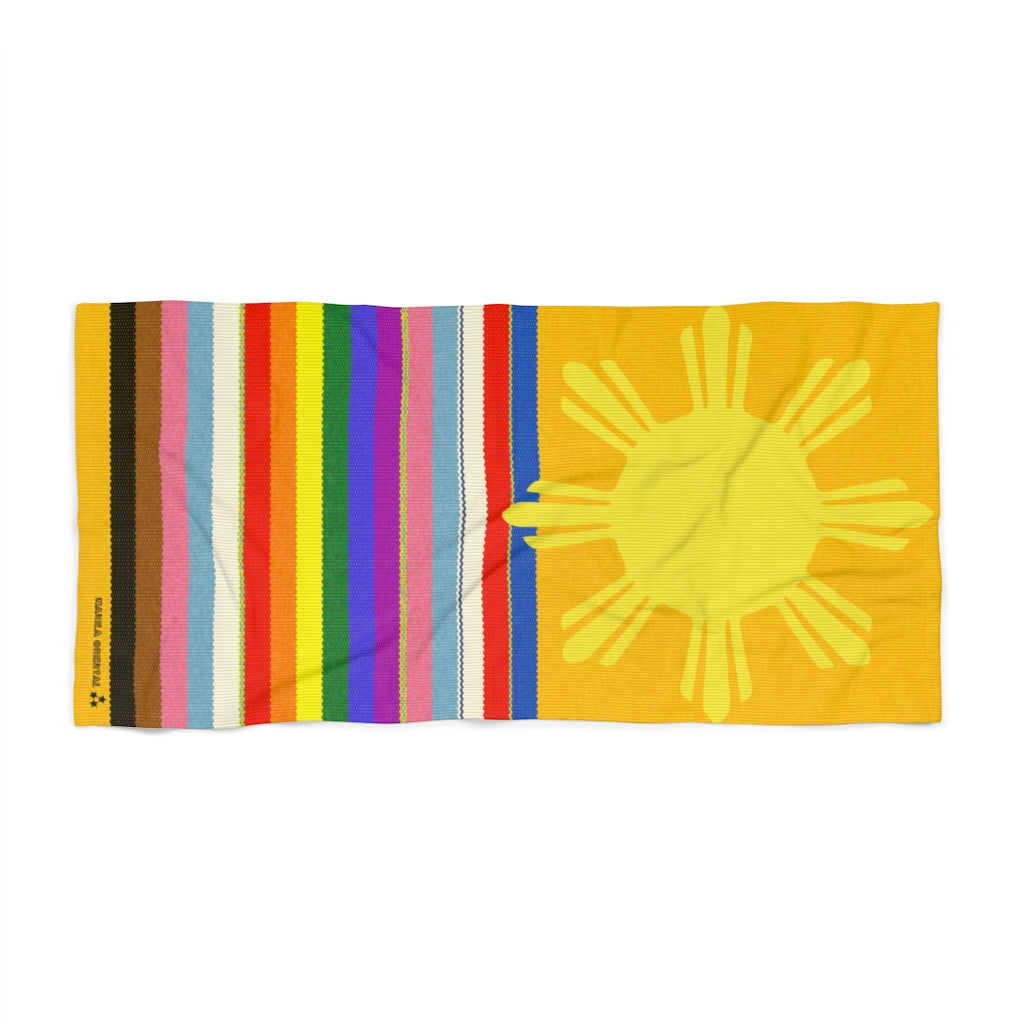 Sunshine & Rainbows Beach Towel