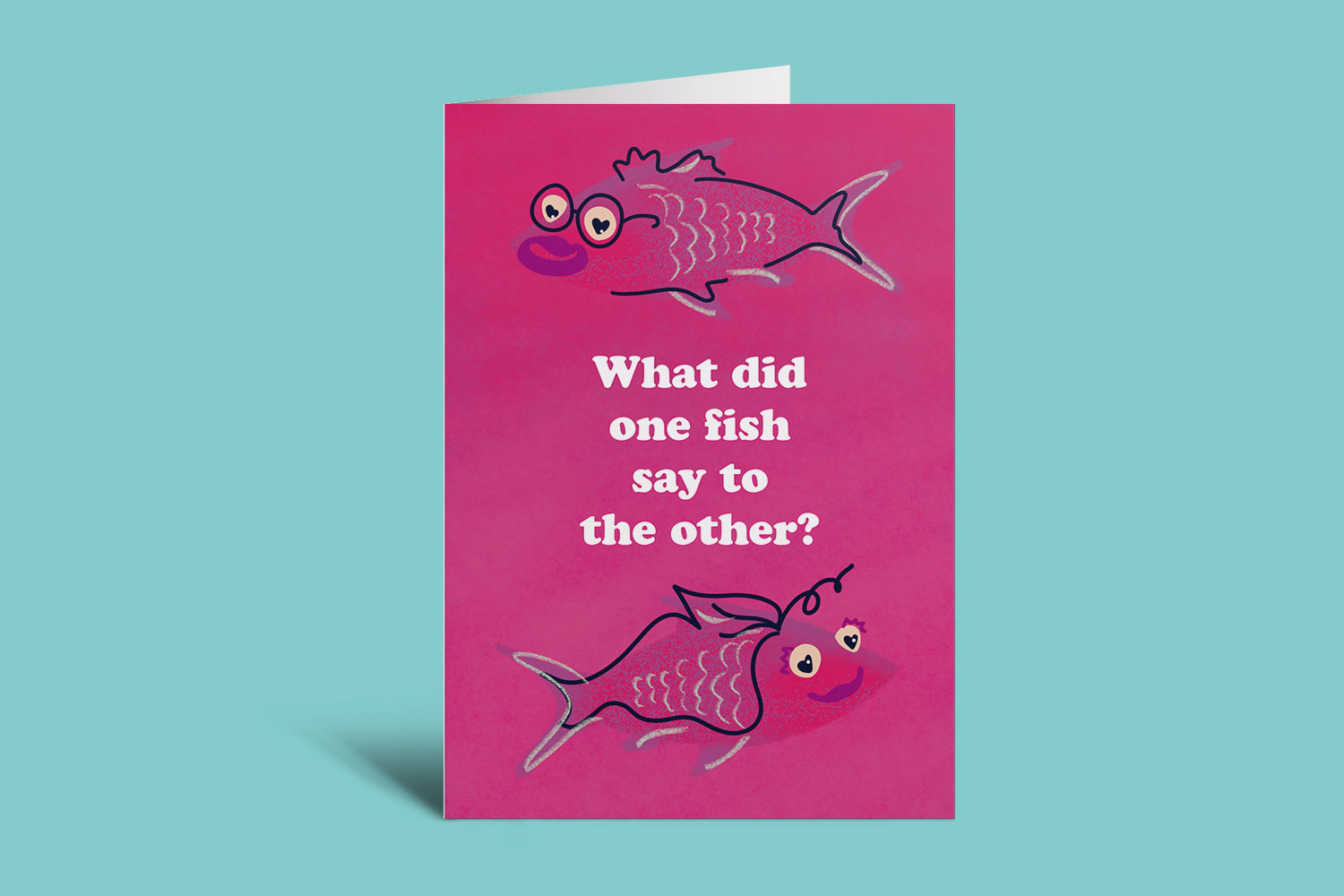 Fish Love Valentines Day Card