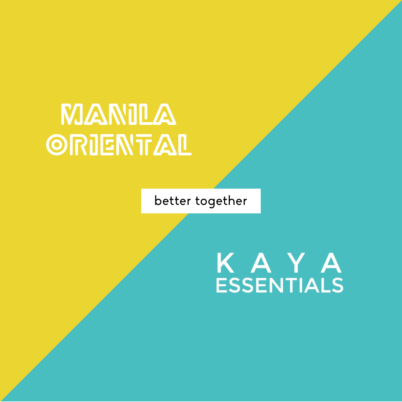 Manila Oriental x Kaya Essentials : Kapwa Care Kit Deluxe