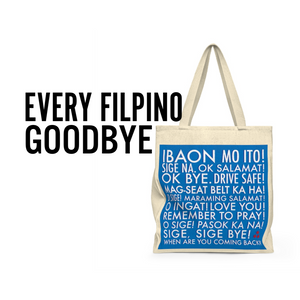 Every Filipino Goodbye