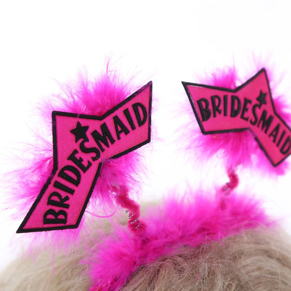 Pink Bunny Devil Hair Accessories -  200220143 - ShaadiMagic