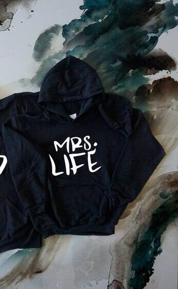 Mr Good Mrs Life Couple Hoodies