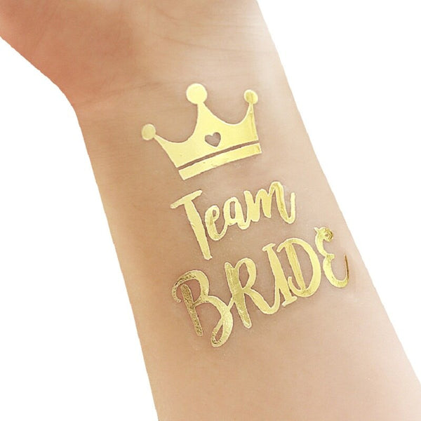 Team Bride Tribe Bridesmaid Stickers -  200220143 - ShaadiMagic