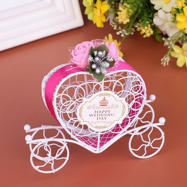 10 Pc. Carriage Designed Hollow Candy Box -  200223144 - ShaadiMagic