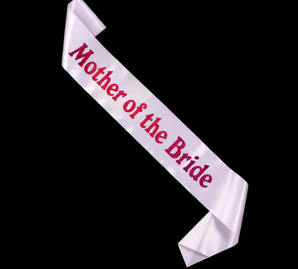 Satin Sashes for Bachelorette -  200220143 - ShaadiMagic
