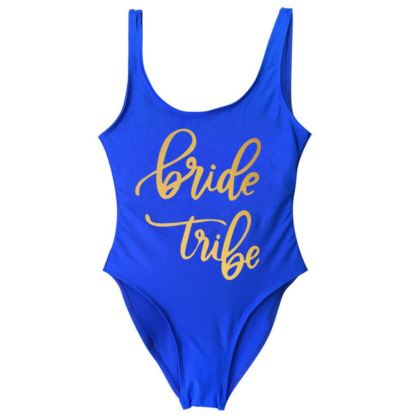 Bridal Party One Piece Swimsuits