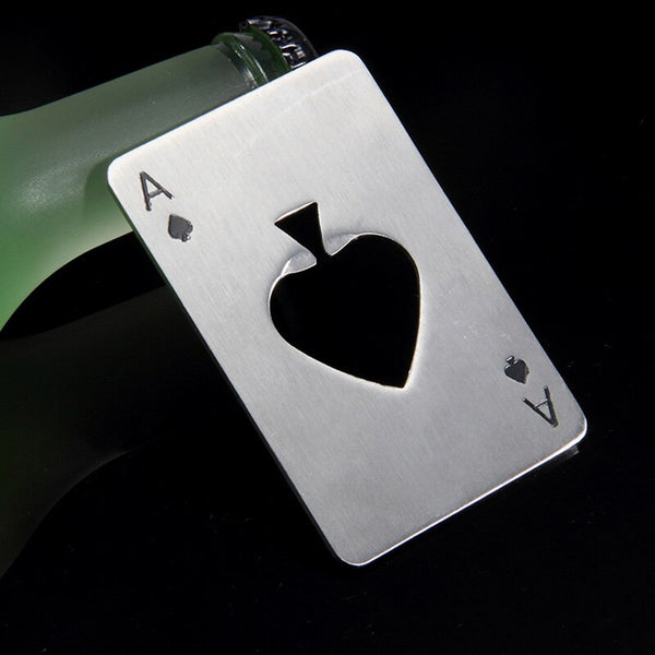 Poker Card Beer Bottle Opener -  200222143 - ShaadiMagic